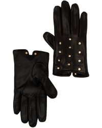 Ted Baker - Pearl & Crystal Scattered Leather Glove - Lyst