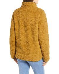 Thread & Supply Wubby Fleece Pullover - Yellow