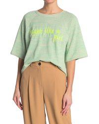 M Missoni Embroidered Raglan Sleeve T-shirt - Green