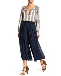 ANAMÁ - Smocked Wide Leg Pant - Lyst