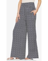 Two By Vince Camuto - 'rabat Flower' Wide Leg Trousers - Lyst