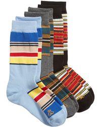 Pendleton National Park 3-pack Crew Socks Gift Box - Red