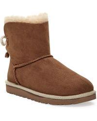 UGG - Selene Genuine Shearling Fur Boot - Lyst