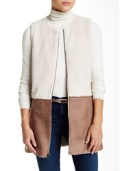 Waverly Grey - Etta Faux Shearling Vest - Lyst