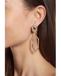 Vince Camuto - Geometric Linear Clip On Drop Earrings - Lyst