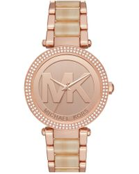 MICHAEL Michael Kors - Women's Parker Three-hand Watch - Lyst