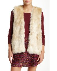 Waverly Grey - Ziggy Faux Fur Vest - Lyst