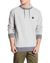 RVCA - Knit Pullover Hoodie - Lyst