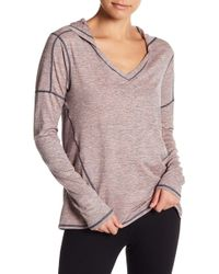 Zella - To & Fro Hooded Pullover Tee - Lyst