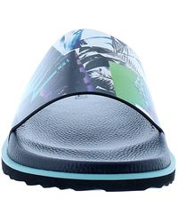 Robert Graham Burdon Slide Sandal - Blue