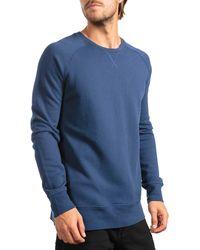Richer Poorer Lounge Crew Neck Sweatshirt - Blue