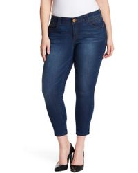 Democracy - Ankle Skimmer Jeans (plus Size) - Lyst