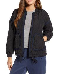 Lou & Grey - Blueline Puffer Jacket - Lyst