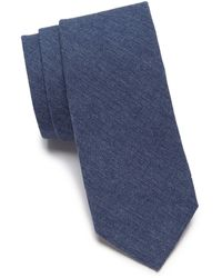 Original Penguin Tillman Solid Tie - Blue