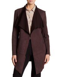 Insight - Brushed Neoprene Cardigan Jacket - Lyst