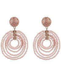 BaubleBar - Clover Drop Beaded Earrings - Lyst