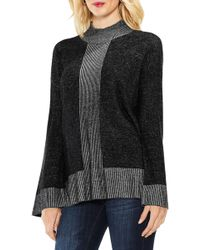 Vince Camuto - Ribbed Contrast Jumper - Lyst