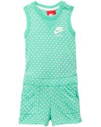 2f0a8ea3ed0 Nike - Gym Vintage Printed Romper (baby Girls) - Lyst