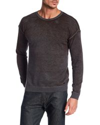 John Varvatos - Drop Shoulder Sweater - Lyst