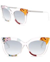 Fendi - 53mm Oversized Printed Sunglasses - Lyst