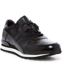 Jared Lang - Genuine Animal Hair Leather Trainer - Lyst