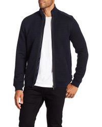 Ted Baker - Ken Long Sleeve Quilted Funnel Neck Jacket - Lyst