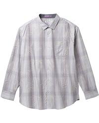Tommy Bahama - Primo Palms Plaid Regular Fit Dress Shirt (big & Tall) - Lyst