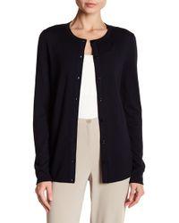 Basler - Wool & Silk Button Cardigan - Lyst