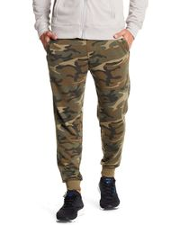 Alternative Apparel | Camo Print Campus Joggers | Lyst