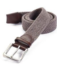 Trafalgar - Cotton Web Belt - Lyst