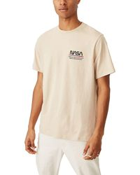 Cotton On Graphic Collab Pop Culture T-shirt - Natural