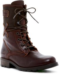 PLDM - Ukange Leather Lace-up Boot - Lyst