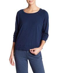 Allen Allen - Raglan Sleeve Pullover - Lyst