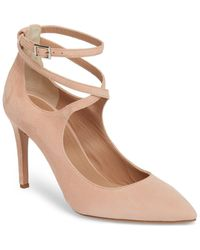 LEWIT Carita Ankle Wrap Pump - Multicolor