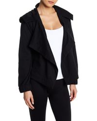 Cable & Gauge - Drapey Open Front Jacket - Lyst