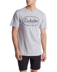 Quiksilver - Simple Times Tee - Lyst