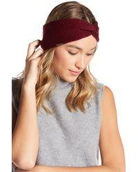 BCBGMAXAZRIA Everyday Solid Twist Headwrap - Multicolor