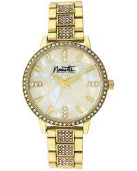 Nanette Nanette Lepore - Women's Gold-tone Metal Watch, 36mm - Lyst