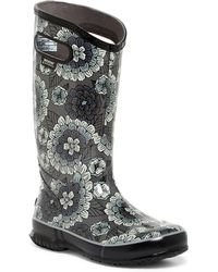 Bogs - Waterproof Pansies Rain Boot - Lyst