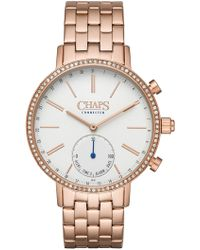 Chaps - Whitney Crystal Bracelet Hybrid Smart Watch, 40mm - Lyst