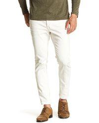John Varvatos - Wight Slim Fit Studded Jeans - Lyst