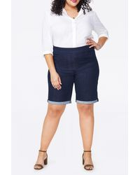 NYDJ Bermuda Shorts - Blue