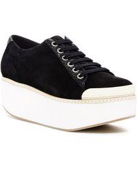 a9bcdb48bf4 Shellys London - Kirk Platform Suede Sneaker - Lyst