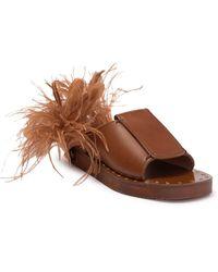 Valentino Garavani Platform Slip-on Sandal - Brown