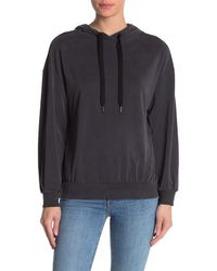 French Connection Faded Jersey Hoodie - Black