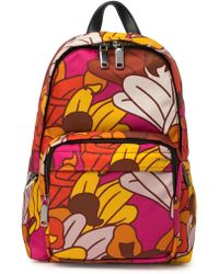 Bally Paisley Backpack - Red