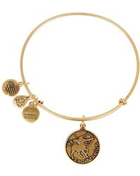 ALEX AND ANI - Sagittarius Ii Expandable Wire Bangle - Lyst