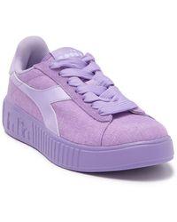 Diadora Game Step Lace-up Sneaker - Purple