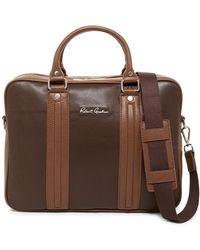 Robert Graham - Roman Leather Briefcase - Lyst