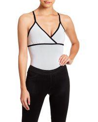 BLANC NOIR - Pli Bodysuit - Lyst